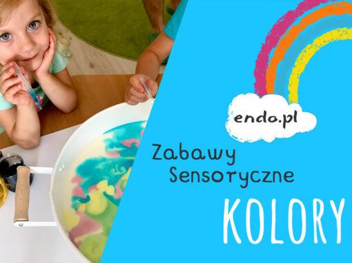 Zabawy sensoryczne – Kolory