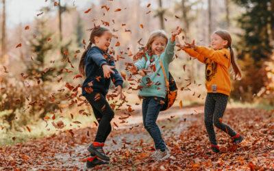 Co daje dziecku przebywanie wśród przyrody?