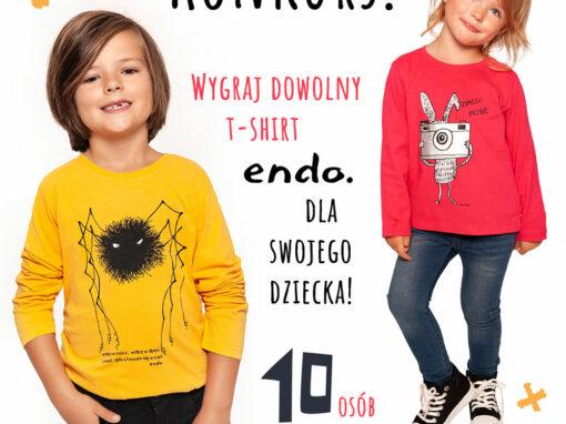 Wygraj t-shirt dla dziecka