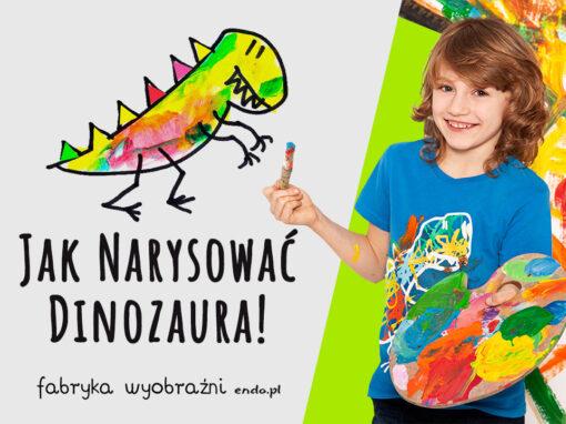 Jak narysować dinozaura?
