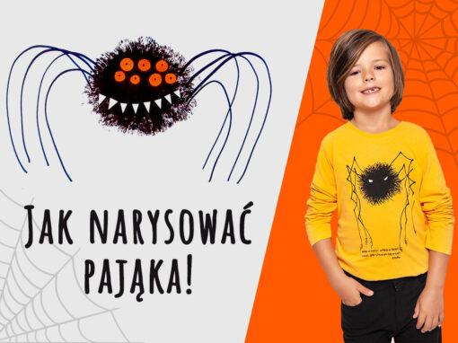 Jak narysować pająka