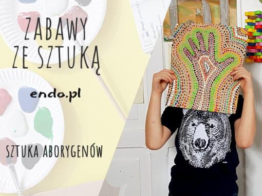 Sztuka Aborygenów: malowanie kropkami