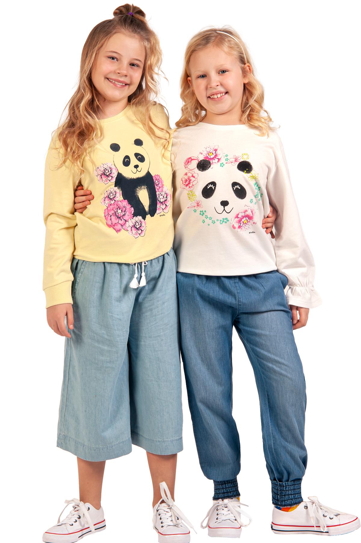 bluzy dla dziewczynki z kolekcji Japonia, zdjęcie z dziewczynkami z sesji zdjęciowej