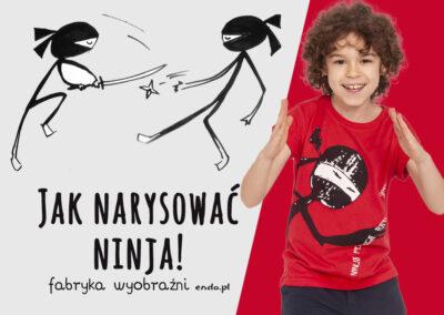 Jak narysować Ninja