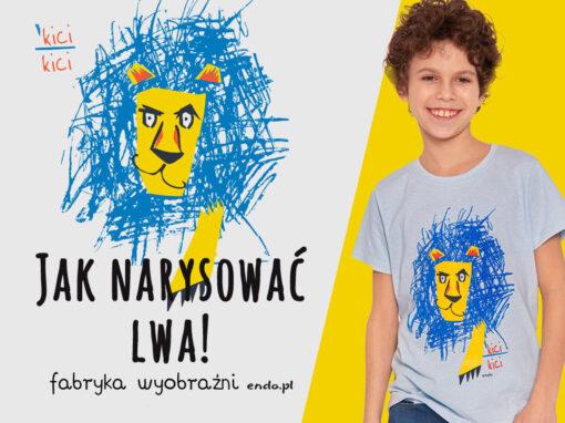 Jak narysować lwa