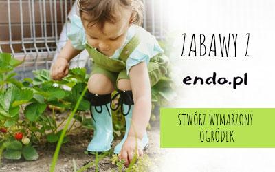 Stwórz razem z dzieckiem Wasz wymarzony ogródek