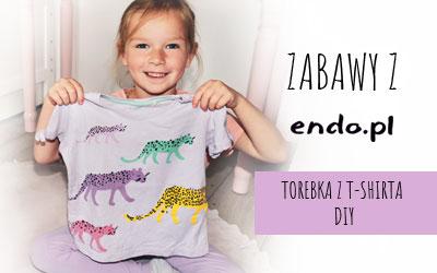 Torba z T-shirta Endo – Domowy recykling dla maluchów