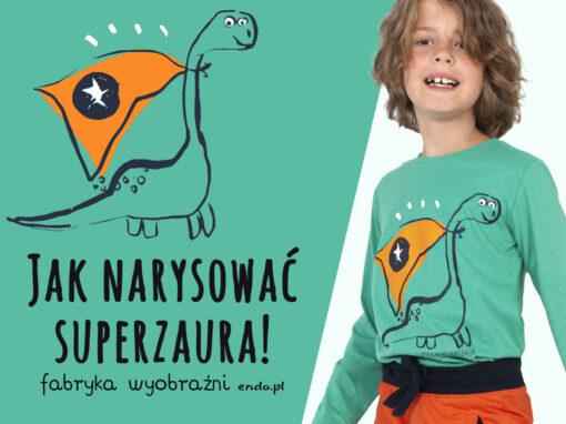 Jak narysować Superzaura? – Szkoła Rysunku