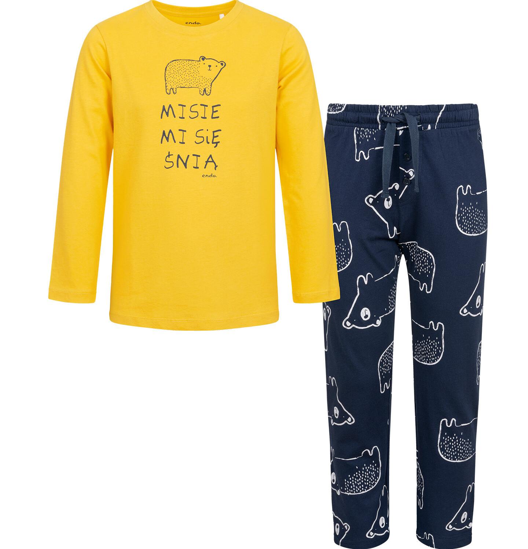 Piżama endo dla chłopca.