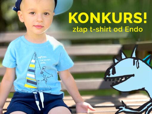 Konkurs: Złap t-shirt od Endo