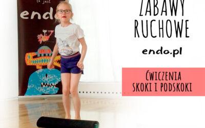 Zabawy ruchowe z Endo: skoki i podskoki