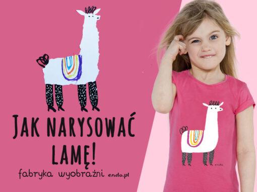 Szkoła Rysunku Endo: Jak narysować lamę?